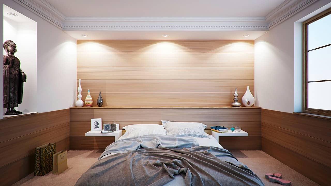 para dormir bien, la habitación es importante. Nada de distracciones